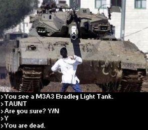 Tank M3A3 Bradley Light Tank