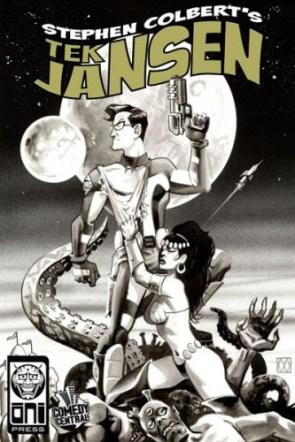 Tek Jansen Comic Cover