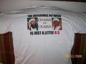 The difference between obama and osama is just a little BS