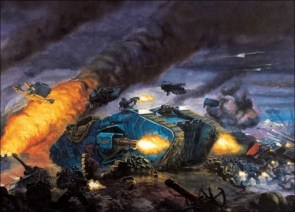 WH40K Battle Tank