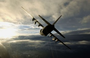 C-130 Banking Right