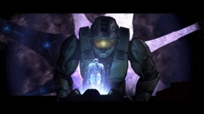Masterchief Looking At Cortana