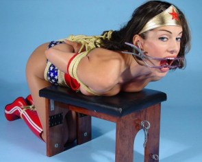 NSFW – wonder woman – bound and gagged