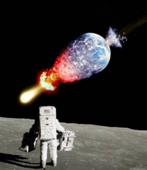 Bad day on the moon