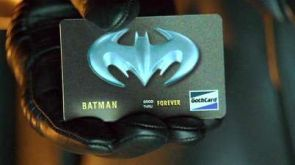 Batman Forever Card