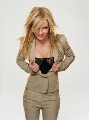 Britney Spears's See Through Pant Suit