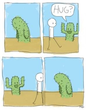 Cactus Hug