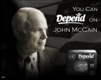 Depend on John McCain