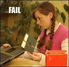 floppy fail