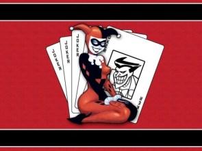 harley quinn has cards