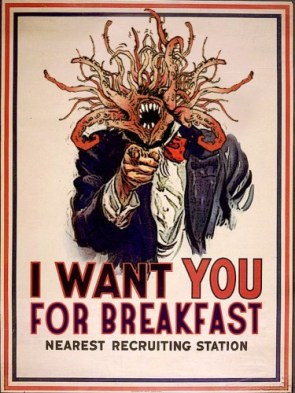 I want you for breakfast