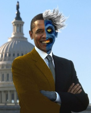 obama – two face