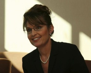 Palin Leans to the left