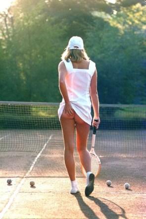 """Fiona Butler's """"tennis girl"""""""