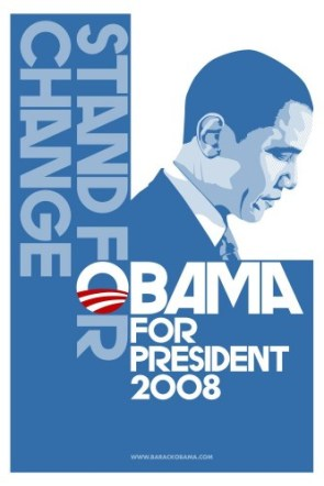 stand for change – obama for president 2008