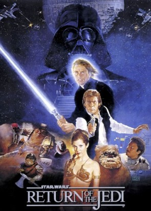star wars – return of the jedi movie poster