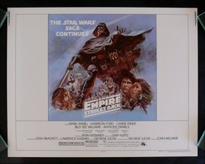 star wars – the empire strikes back long poster