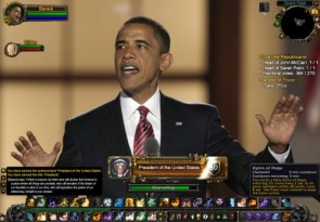 Obama Warcraft Achievement