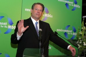 Al gore – environmental for the MDGs