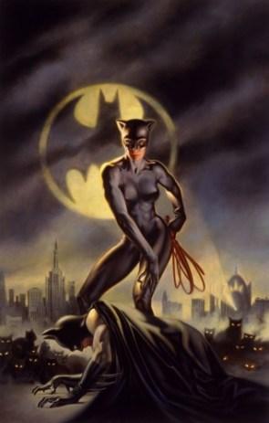 Batman vs Catwoman