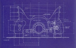 Batmobile Blueprints 3