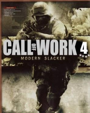 call of work 4