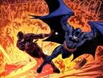 Flash Saves Batman From Batmobile Explosion