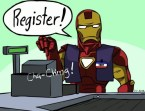 Iron Man – Register