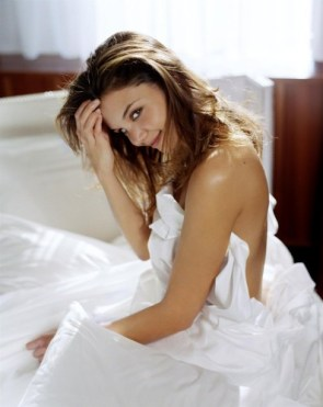 Katie Holmes – Naked in bed