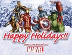 marvel comics – happy hollidays
