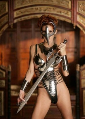 NSFW – Armored Woman