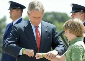 Presidential Fist Bump