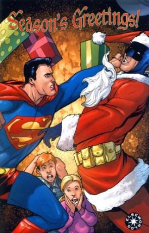 Superman Vs Batman – Christmas