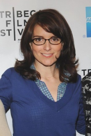 Tina Fey – Blue Top