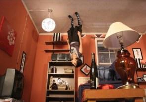 upside down room
