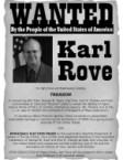 Wanted – Karl Rove