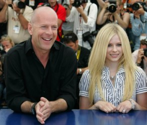 Avril Lavigne And Bruce Willis