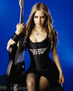 Avril Lavigne Did you Think That I was gonna give it up to you