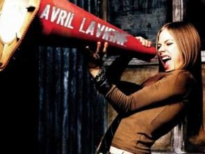 Avril Lavigne has a bullhorn