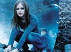 Avril Lavigne Is Blue