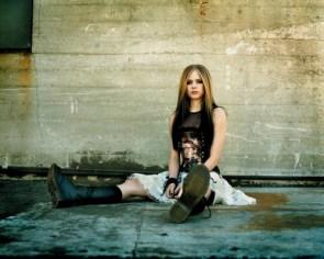 Avril Lavigne Sits Down