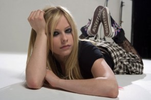 Avril Lavigne Wears Rocketdog Shoes