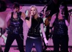 Avril Lavigne With backup singers