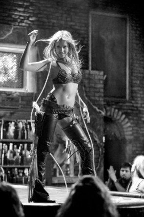 Jessica Alba as a Sexy stripper in Sin City
