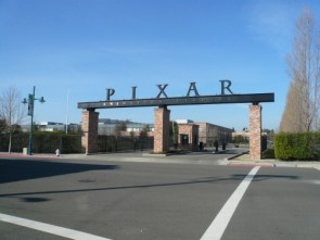 Pixar Entrance