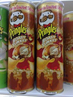 Pringles – Roast Turkey Flavors