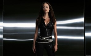 Summer Glau – Silver Belts