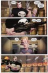 The Punisher – A gun that shoots swords