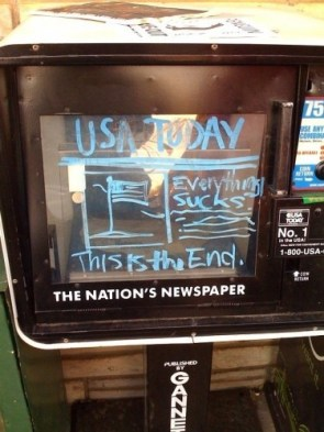 USA Today – Everything Sucks – this is the end