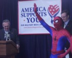 America Supports You – Spider-Man